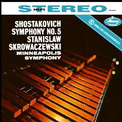 Dmitri Shostakovich: Symphony No. 5, Opus 47 - The Minneapolis Symphony Orchestra conducted by Stanislaw Skrowacziewski MERCURY