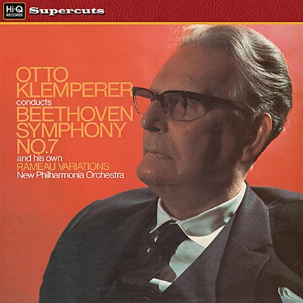 Beethoven Symphony No. 7 Op. 92 New Philharmonia Orchestra Otto Klemperer EMI