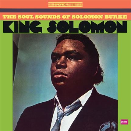 Solomon Burke King Solomon The Soul Sounds of Solomon Burke Pure Pleasure180g LP