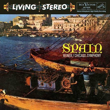 SPAIN Fritz Reiner Chicago Symphony Orchestra RCA LIVING STEREO ANALOGUE PRODUCTIONS