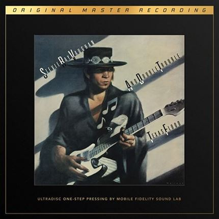 Stevie Ray Vaughan And Double Trouble Texas Flood MOBILE FIDELITY Numbered Limited Edition 180g 45rpm SuperVinyl 2LP Box Set