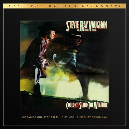Stevie Ray Vaughan And Double Trouble Couldn't Stand The Weather  MOBILE FIDELITY ULTRADISC ONE-STEP