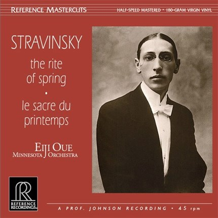 Igor Stravinsky The Rite of Spring Half-Speed Mastered REFERENCE RECORDINGS 180g 45rpm LP