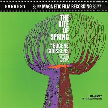 Stravinsky Le Sacre du Printemps (The Rite of Spring) ANALOGUE PRODUCTIONS 200g 45rpm 2LP