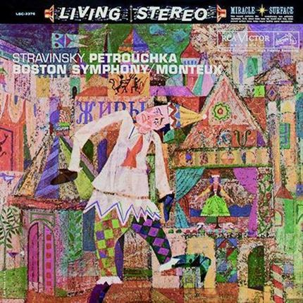 Stravinsky Petrouchka Pierre Monteux RCA Living Stereo ANALOGUE PRODUCTIONS200g LP