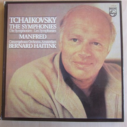 Tchaikovsky The  six Symphonies and Manfred Concertgebouw Orchestra Amsterdam Bernard Haitink PHILIPS