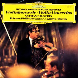 Tchaikovsky: Concerto for Violin and Orchestra / Mendelssohn Bartholdy: Concerto for Violin and Orchestra op. 64 – Nathan Milstein and the Vienna Philharmonic Orchestra conducted by Claudio Abbado DEUTSCHE GRAMMOPHON SPEAKERS CORNER