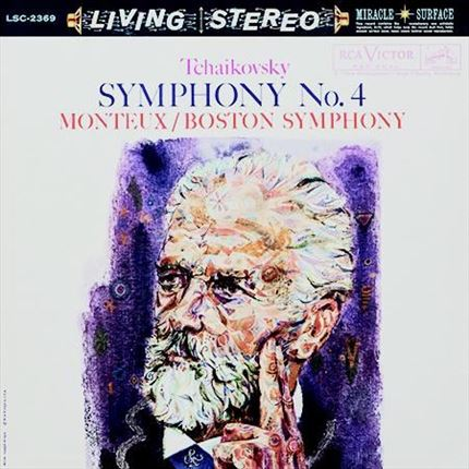 Tchaikovsky Symphony No. 4 Pierre Monteux RCA Living STEREO ANALOGUE PRODUCTIONS 200g LP