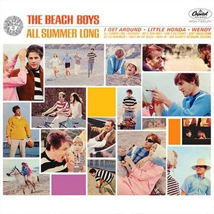 The Beach Boys  All Summer Long  ANALOGUE PRODUCTIONS  200g LP (Mono)