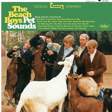 The Beach Boys Pet Sounds ANALOGUE PRODUCTIONS 180g LP