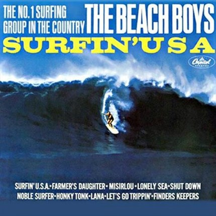 The Beach Boys Surfin' USA  ANALOGUE PRODUCTIONS  200g LP (Mono)