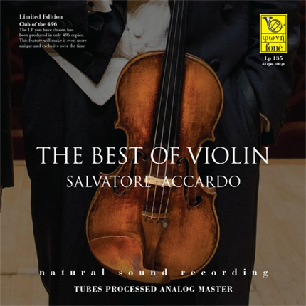 THE BEST OF VIOLIN SALVATORE ACCARDO FONE RECORDS LP