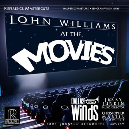 The Dallas Winds John Williams At The Movies Half-Speed Mastered 180g 2LP REFERENCE RECORDINGS