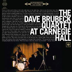 The Dave Brubeck Quartet At Carnegie Hall  COLUMBIA C2S 826