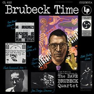 The Dave Brubeck Quartet Brubeck Time COLUMBIA Speakers Corner 180g LP