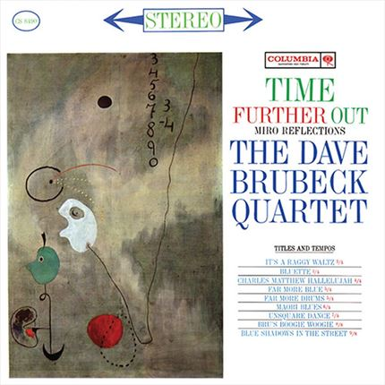 The Dave Brubeck Quartet Time Further Out: Miro Reflections Impex Records 180g LP