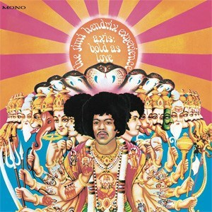 The Jimi Hendrix Experience Axis: Bold As Love 200g LP (Mono) LEGACY RECORDINGS