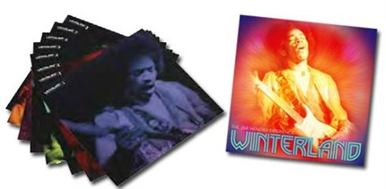 The Jimi Hendrix Experience Winterland Numbered Limited Edition SONY LEGACY180g 8LP