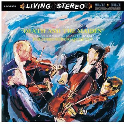 Juilliard String Quartet Schubert Death and The Maiden ANALOGPHONIC 180g  LP
