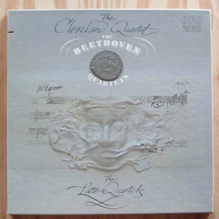 Beethoven The Late Quartets The Cleveland Quartet RCA