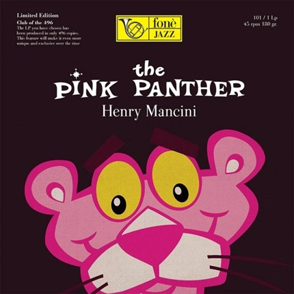 THE PINK PANTHER - HENRY MANCINI FONE LP AUDIOPHILE PRODUCTIONS