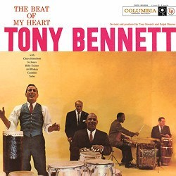 """The Beat Of My Heart"" - Tony Bennett (voc); Ralph Sharon (p, arr, cond); Kai Winding (tb); Al Cohn (ts); Nat Adderley (tp); Herbie Mann (fl); John Pisano (g); James Bond, Eddie Safranski (b); Eddie Costa (vib); Jo Jones, Chico Hamilton, Art Blakey (dr)"