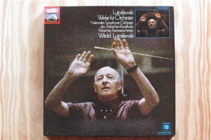Witold Lutoslawski Orchestral Works National Symphonie-Orchester Polish Rundfunks EMI