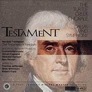 TURTLE CREEK CHORALE TESTAMENT REFERENCE RECORDINGS