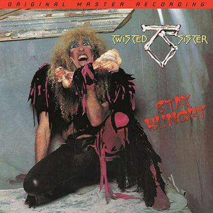 Twisted Sister Stay Hungry MOBILE FIDELITY Numbered Limited Edition 180g LP