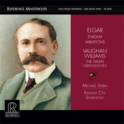 Elgar Variations on an Original Theme Enigma Vaughan Williams The Wasps - Aristophanic Suite REFERENCE RECORDING