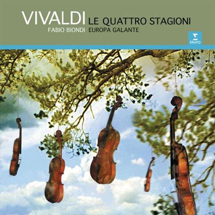 Fabio Biondi Vivaldi The Four Seasons 180g Direct Metal Master Import 2LP ANALOGPHONIC