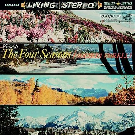 Vivaldi The Four Seasons (Societa Corelli) ANALOGUE PRODUCTIONS 200g LP